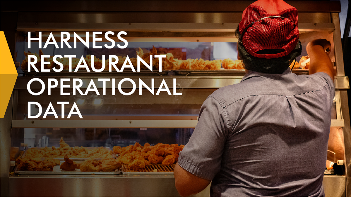 Harness Restaurant Operational Data Banner
