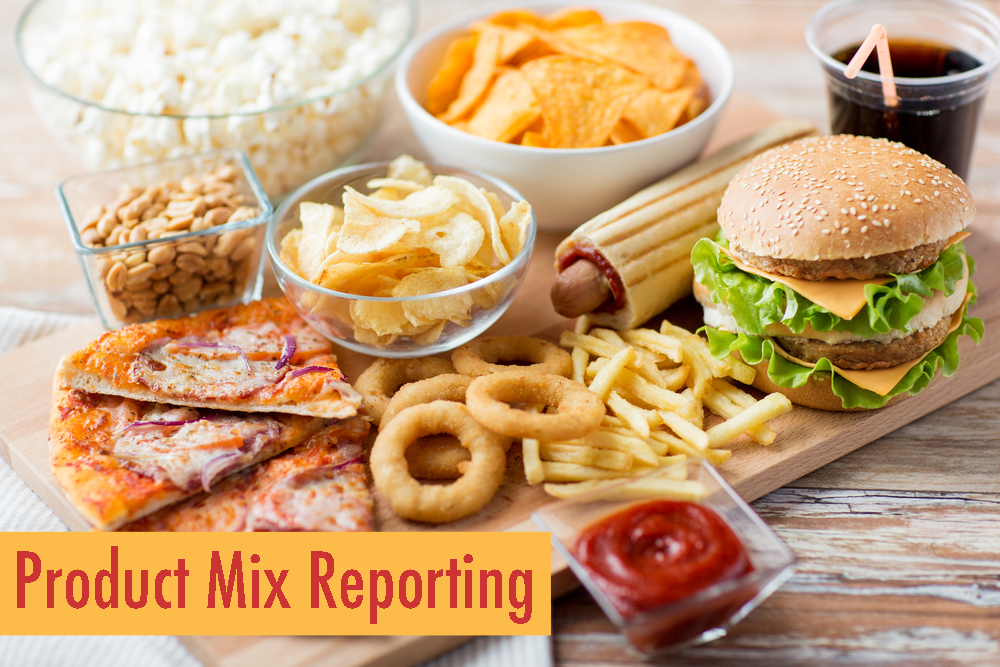 Product Mix Reporting