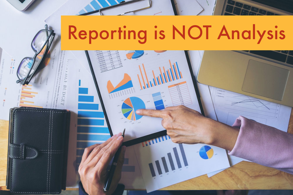 Restaurant Reporting Is Not Analysis