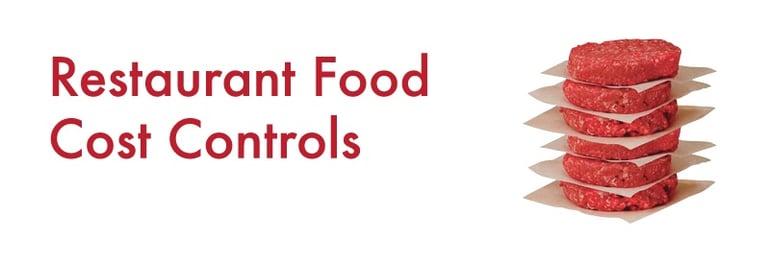 Restaurant Food Cost Controls