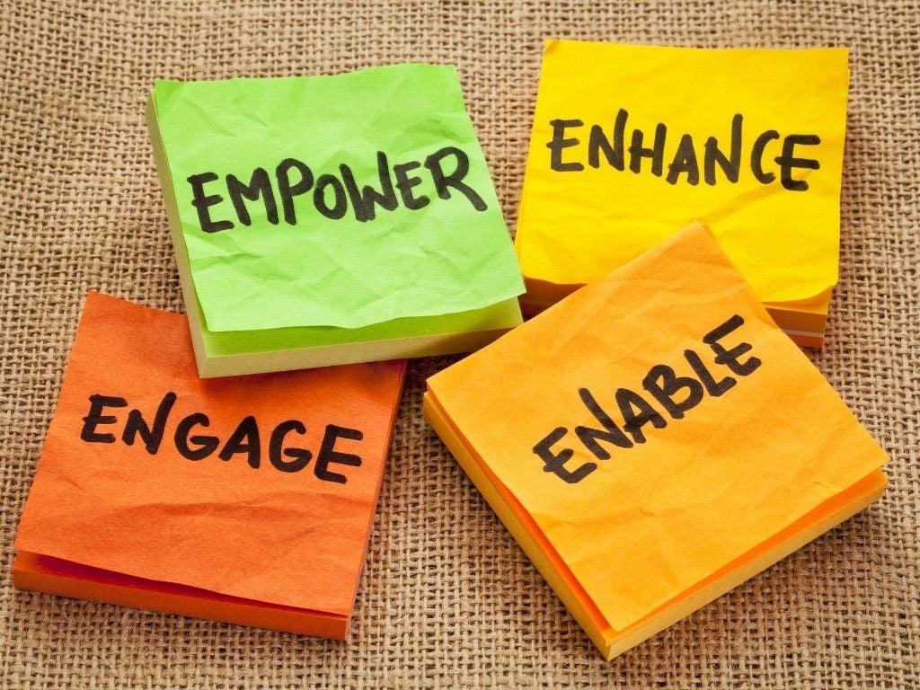 empower, enhance